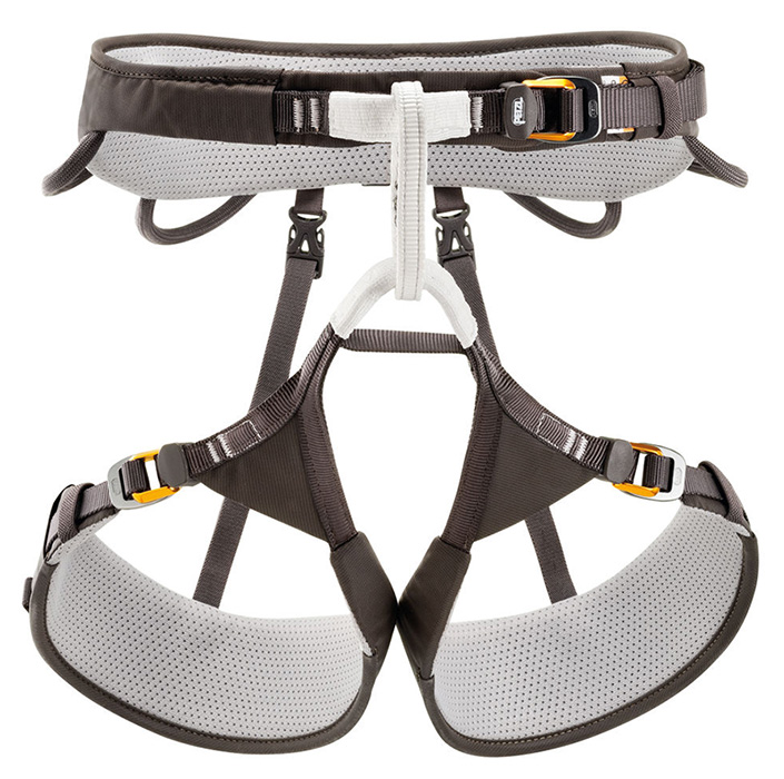 Dave Alie reviews the Petzl Aquila Harness for Blister Gear Review