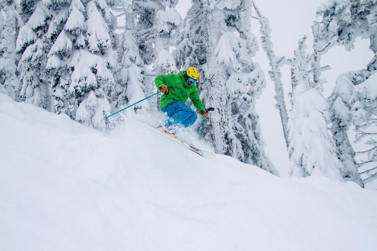 Jonathan Ellsworth reviews the J Skis Masterblaster for Blister Gear Review