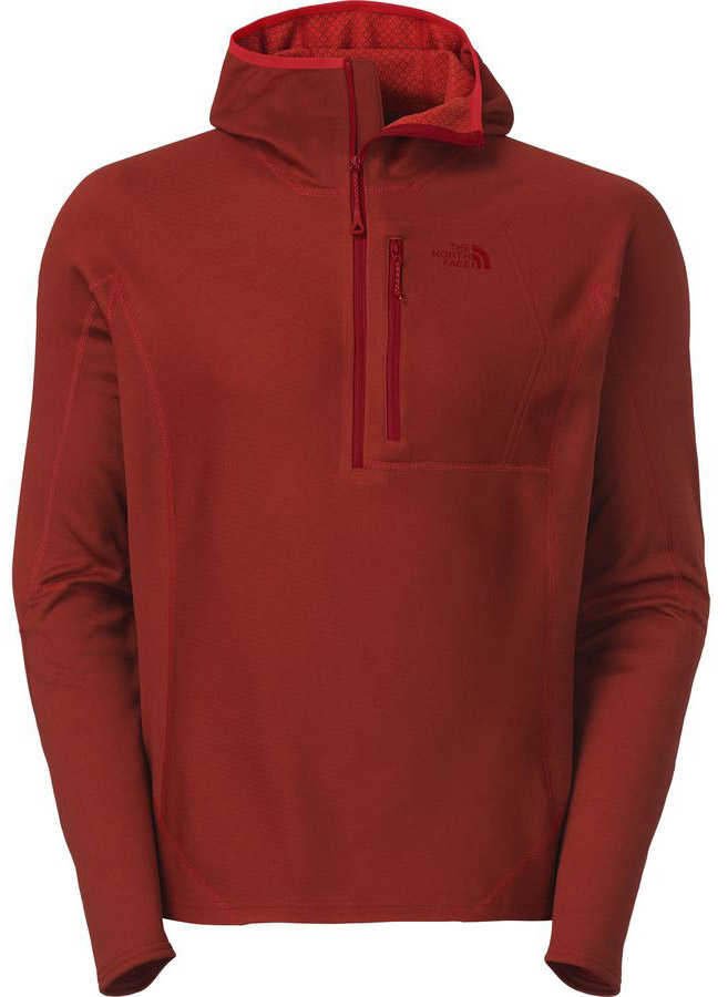 Sam Shaheen reviews the North Face Dolomiti 1/4 Zip FuseForm Hoody for Blister Gear Review.