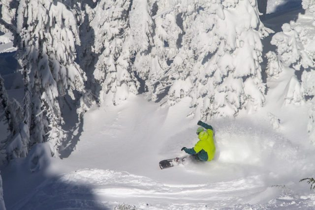 Blister Gear Review at Mt Bachelor for Wall Street Suites in Bend OR.