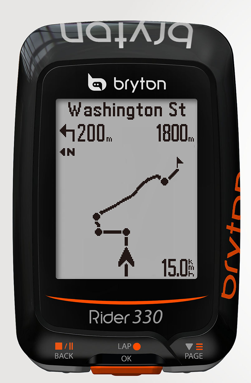 Marti Bruce reviews the Bryton Rider 330 for Blister Gear Review,