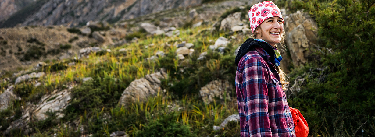 Julia Van Raalte reviews the Patagonia women's Fjord Flannel Shirt for Blister Gear Review's Flannel Roundup