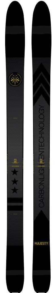 Cy Whitling reviews the majesty skis Werewolf CLT for Blister gear Review.