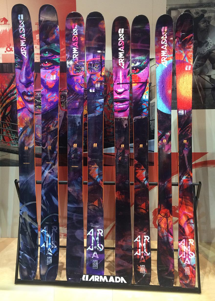 2017/2018 Armada ARV skis, SIA 2017 Blister Awards