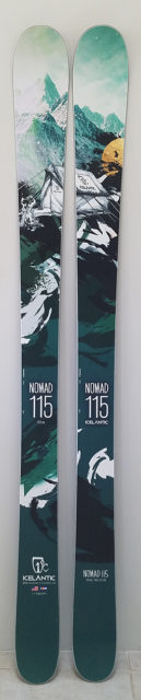 Cy Whitling reviews the Icelantic Nomad 115 for Blister