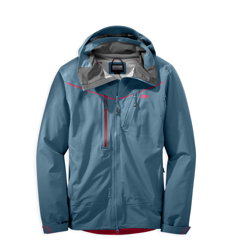Luke Koppa reviews the Outdoor Research Skyward jacket for Blister Gear Review.