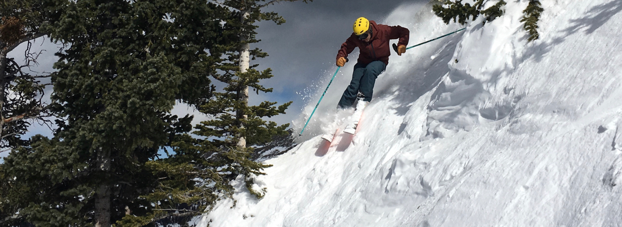"""What does it mean to talk about the """"top end"""" of a ski?"""