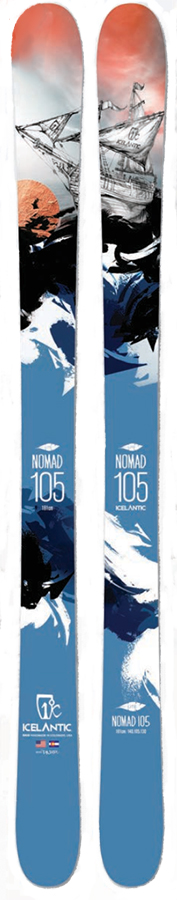 Cy Whitling reviews the Icelantic Nomad 105 Lite for Blister Gear Review