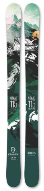 Cy Whitling reviews the Icelantic Nomad 115 for Blister Gear Review.