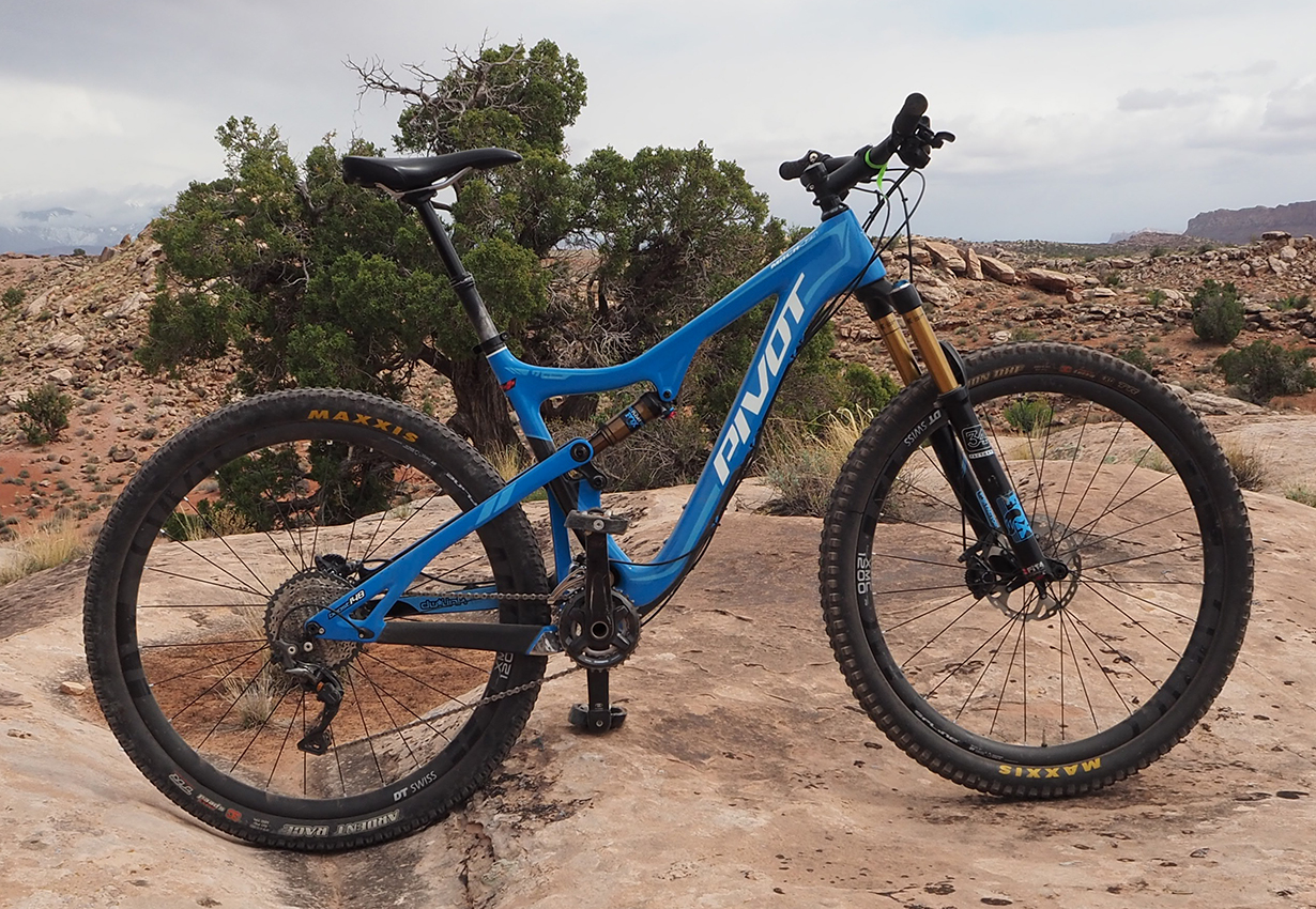 Xan Marshland reviews the 2017 Pivot Mach 429 Trail for Blister Gear Review.