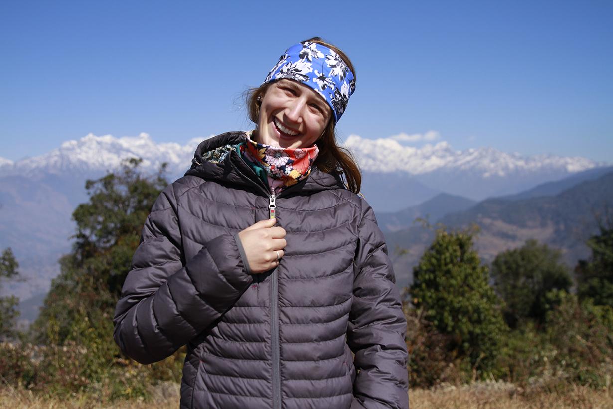 Julia Van Raalte reviews the Sherpa Nangpala Hooded Jacket for Blister Gear Review.