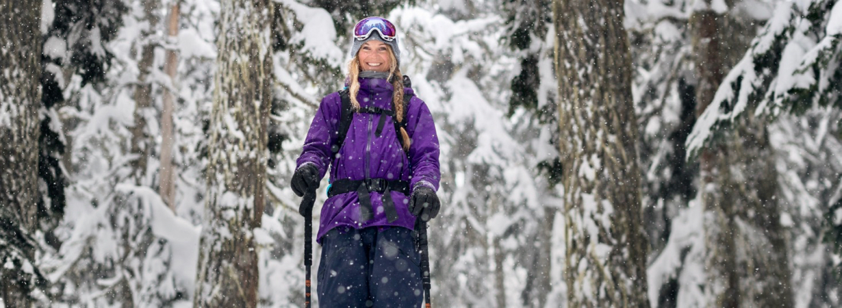 "Ep. 42: Michelle Parker — Skier (and climber, biker, ""pretend band"" member, etc…)"