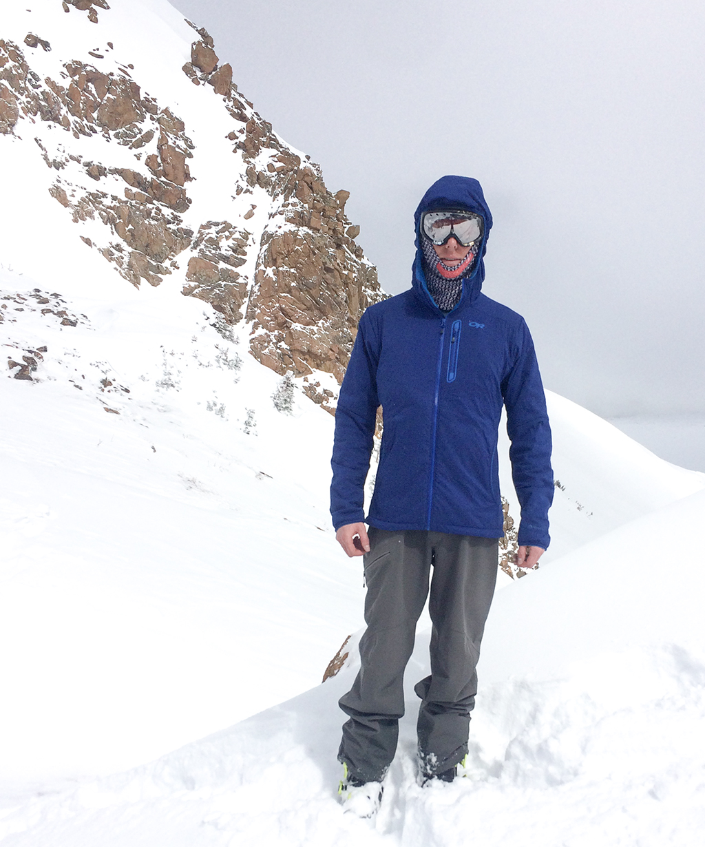 Sam Shaheen reviews the Outdoor Research Ascendant Jacket for Blister Gear Review.