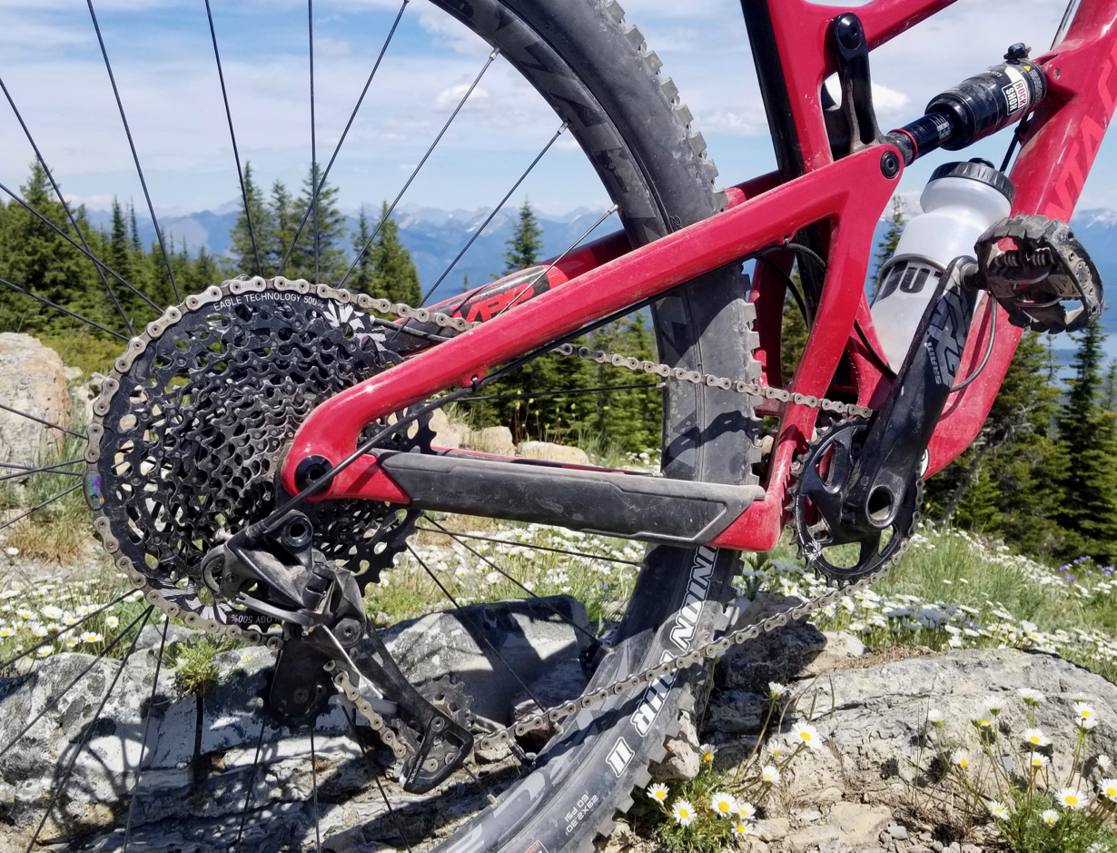 Noah Bodman reviews the Sram GX Eagle drivetrain for Blister Review