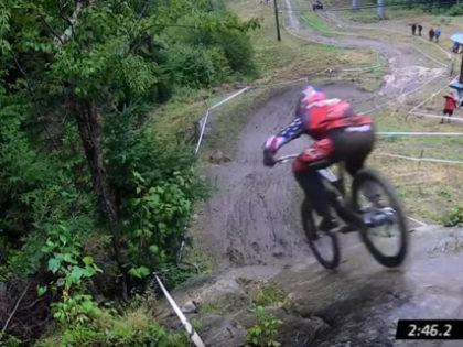 Aaron Gwin wins Mont-Sainte-Anne