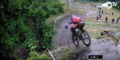 Aaron Gwin wins Mont Sainte Anne