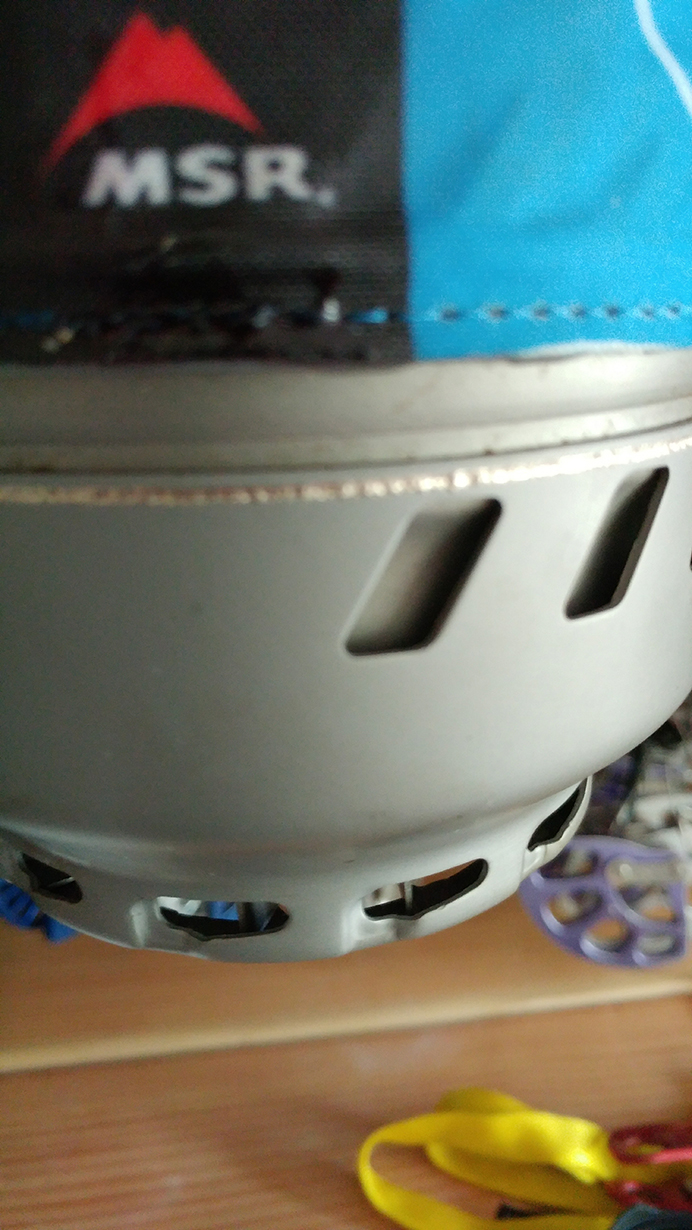 Dave Alie reviews the MSR WindBurner Stove System for Blister Gear Review