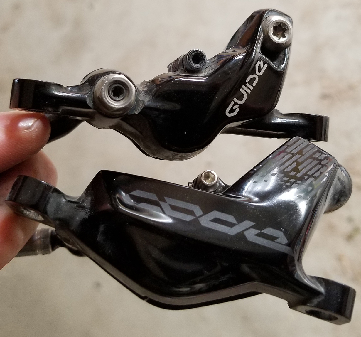 Noah Bodman reviews the SRAM Code RSC brakes for Blister Gear Review