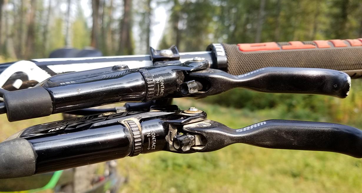 Noah Bodman reviews the SRAM Code RSC brakes for Blister Gear Review