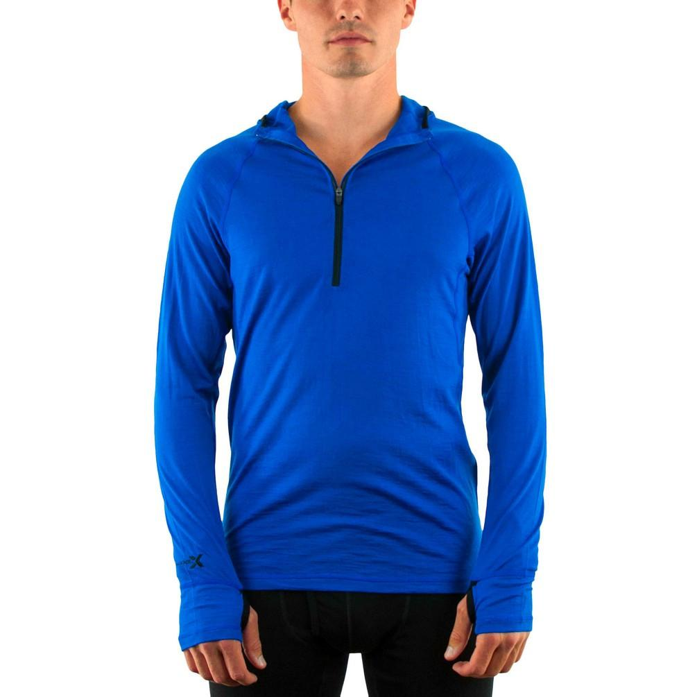 Jonathan Ellsworth reviews the WoolX Base Camp Hooded Sweatshirt for Blister Review