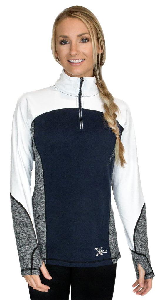 Kristin Sinnott reviews the WoolX Rory Quarter Zip Sweater for Blister Review