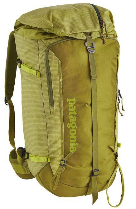 Cy Whitling reviews the Patagonia Descensionist 40L Pack for Blister Review