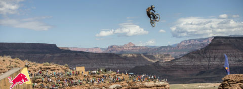 Claudio Caluori on the Blister Podcast, Redbull Rampage
