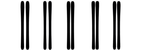 Blacked Out Ski Test