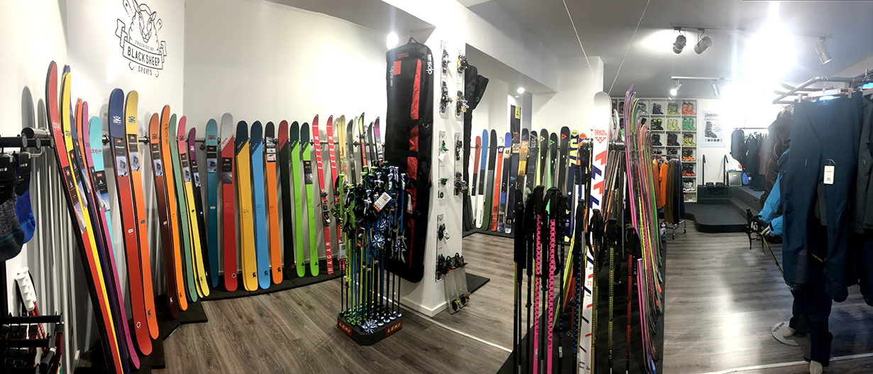 Black Sheep Sports, Blister Recommended Shop