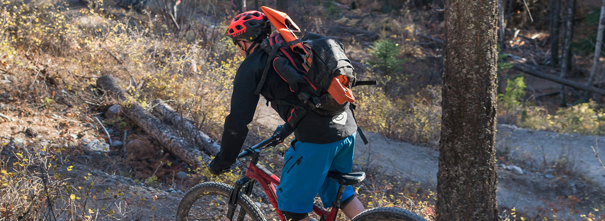 Noah Bodman reviews the Evoc Trail Builder Pack for Blister