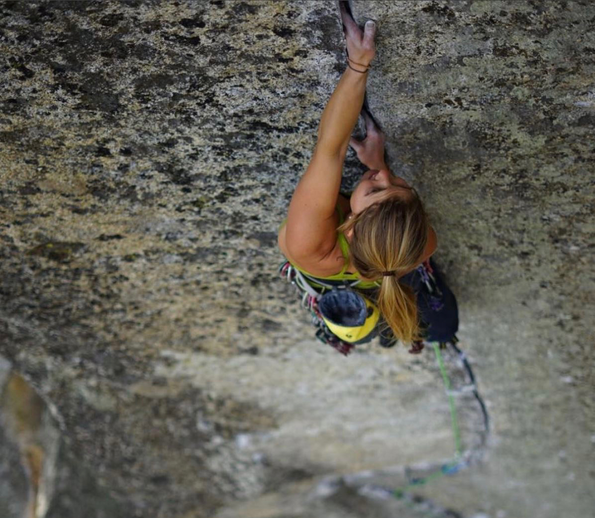 Hazel Findlay on the All Things Climbing podcast