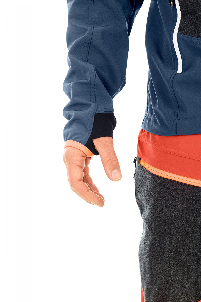 Luke Koppa reviews the Ortovox Pordoi Jacket for Blister