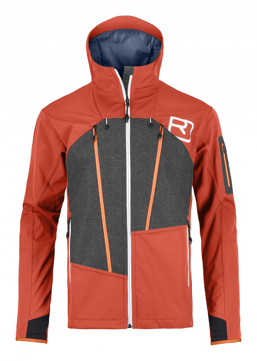 Luke Koppa reviews the Ortovox Pordoi Jacket for Blister
