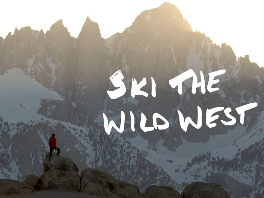 Drew Petersen, Ski The Wild West on Blister