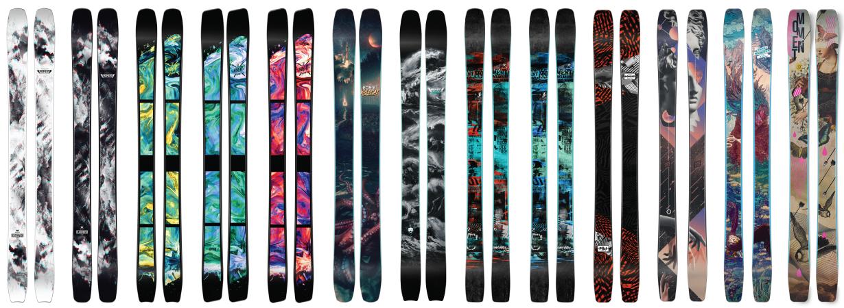 18/19 Moment Skis Lineup (Ep.10)