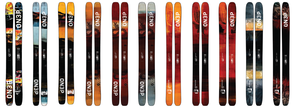 2018-2019 ON3P Skis, Scott Andrus, Gear:30 Podcast