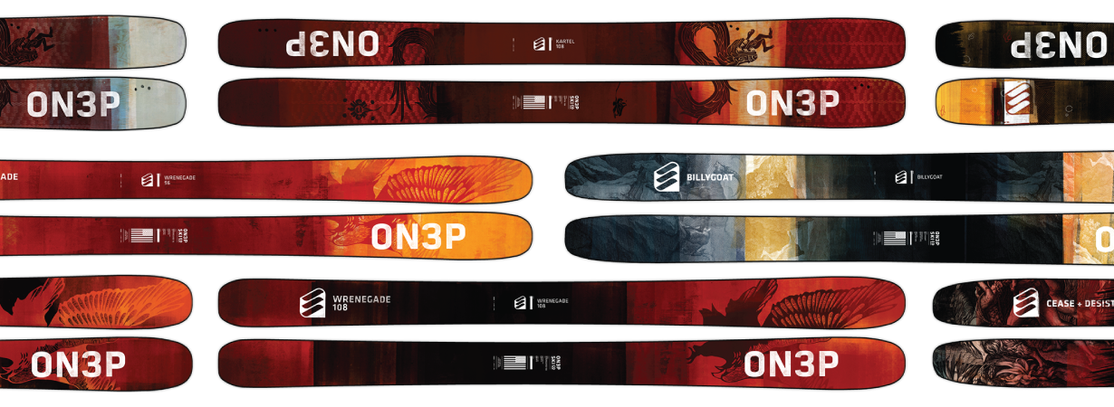 Win Custom ON3P Skis, Blister Gear Giveaway