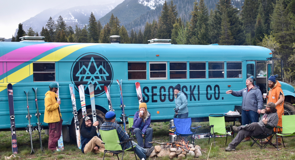 Sego Skis founders, Tim and Peter Wells, on the Blister Podcast