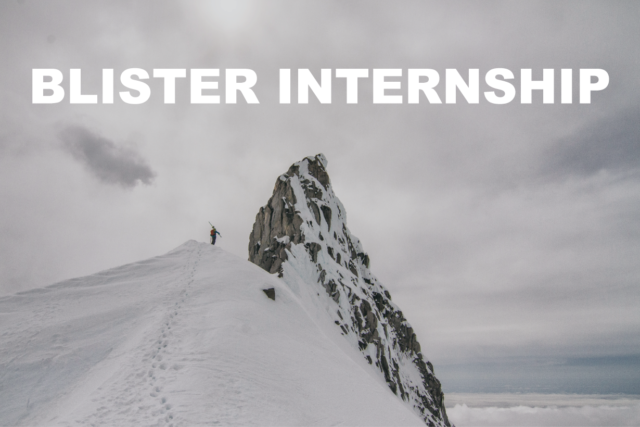 Blister Internship, Outdoor Industry Internship