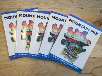 Cy Whitling's Mountain Mix Coloring Book