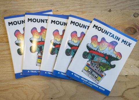 Mountain Mix Coloring Book 10