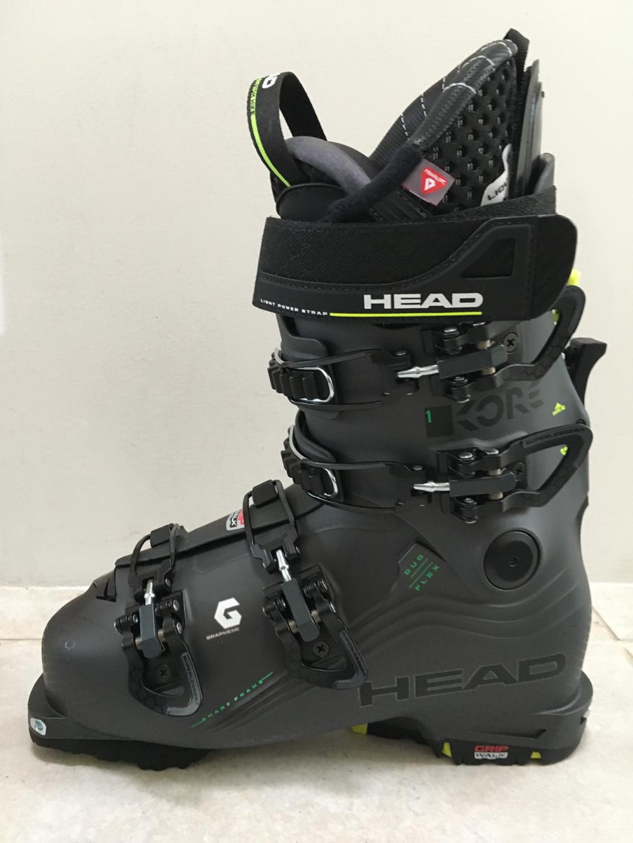 Jonathan Ellsworth reviews the Head Kore 1 Ski Boot for Blister