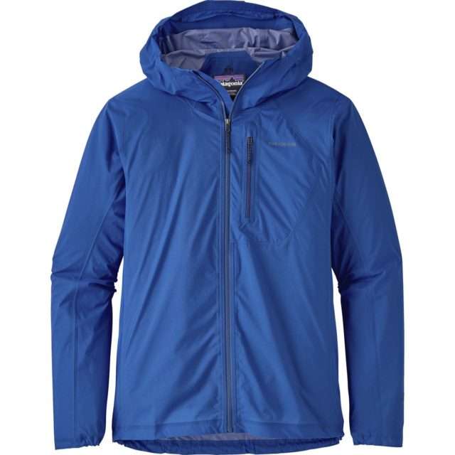 Blister reviews the Patagonia Storm Racer Jacket.
