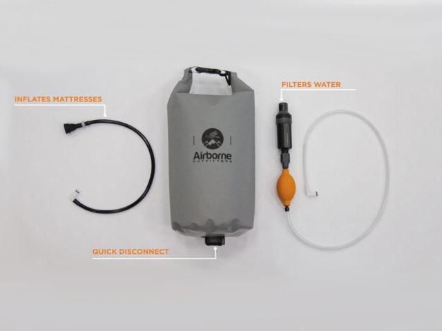Luke Koppa reviews the Airborne Outfitters Bitterroot Dry Bag for Blister