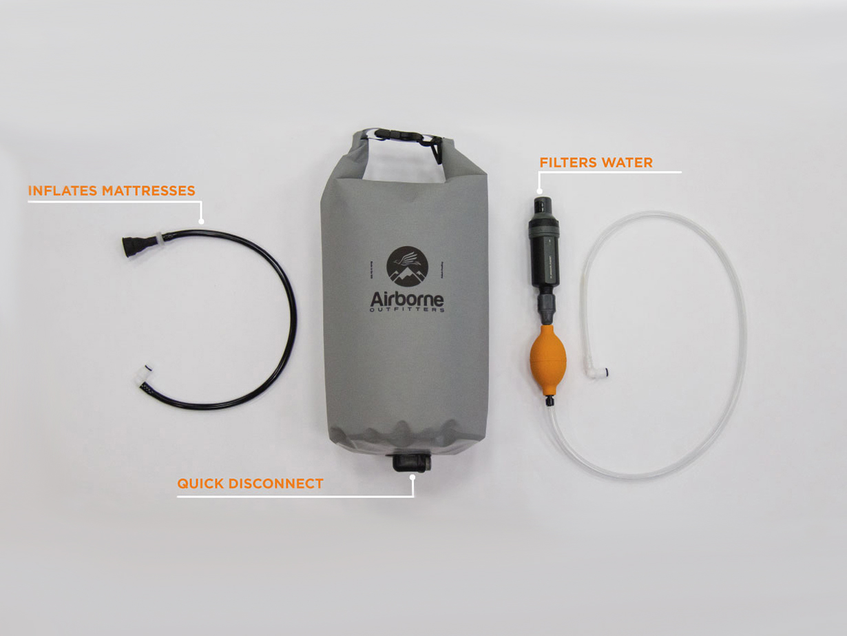 Luke Koppa reviews the Airborne Outfitters Bitterroot Dry Bag for Blister