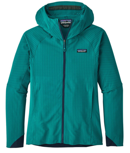 Kristin Sinnott reviews the Patagonia Women's R1 TechFace Hoody for Blister