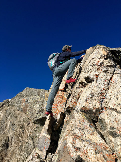 Sam Shaheen reviews the Mammut Eisfeld Light SO Hoody and Pants for Blister