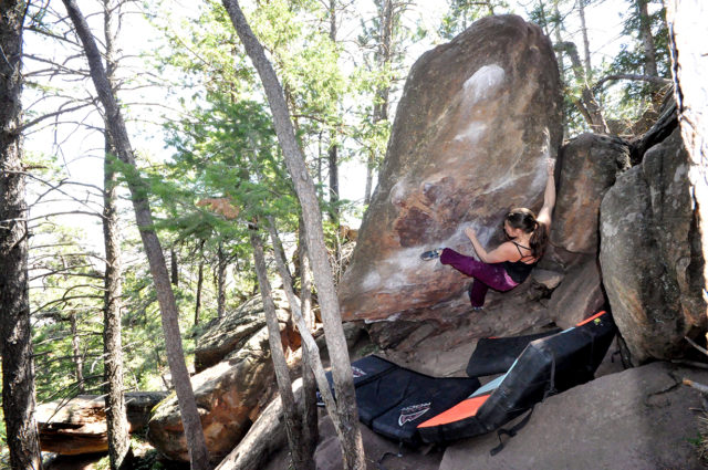 Whitney Burton reviews the Mad Rock Drone HV for Blister