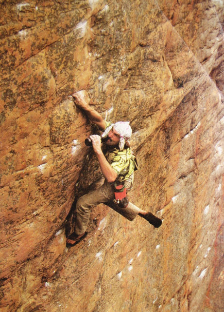 John Sherman on Blister's All Things Climbing Podcast