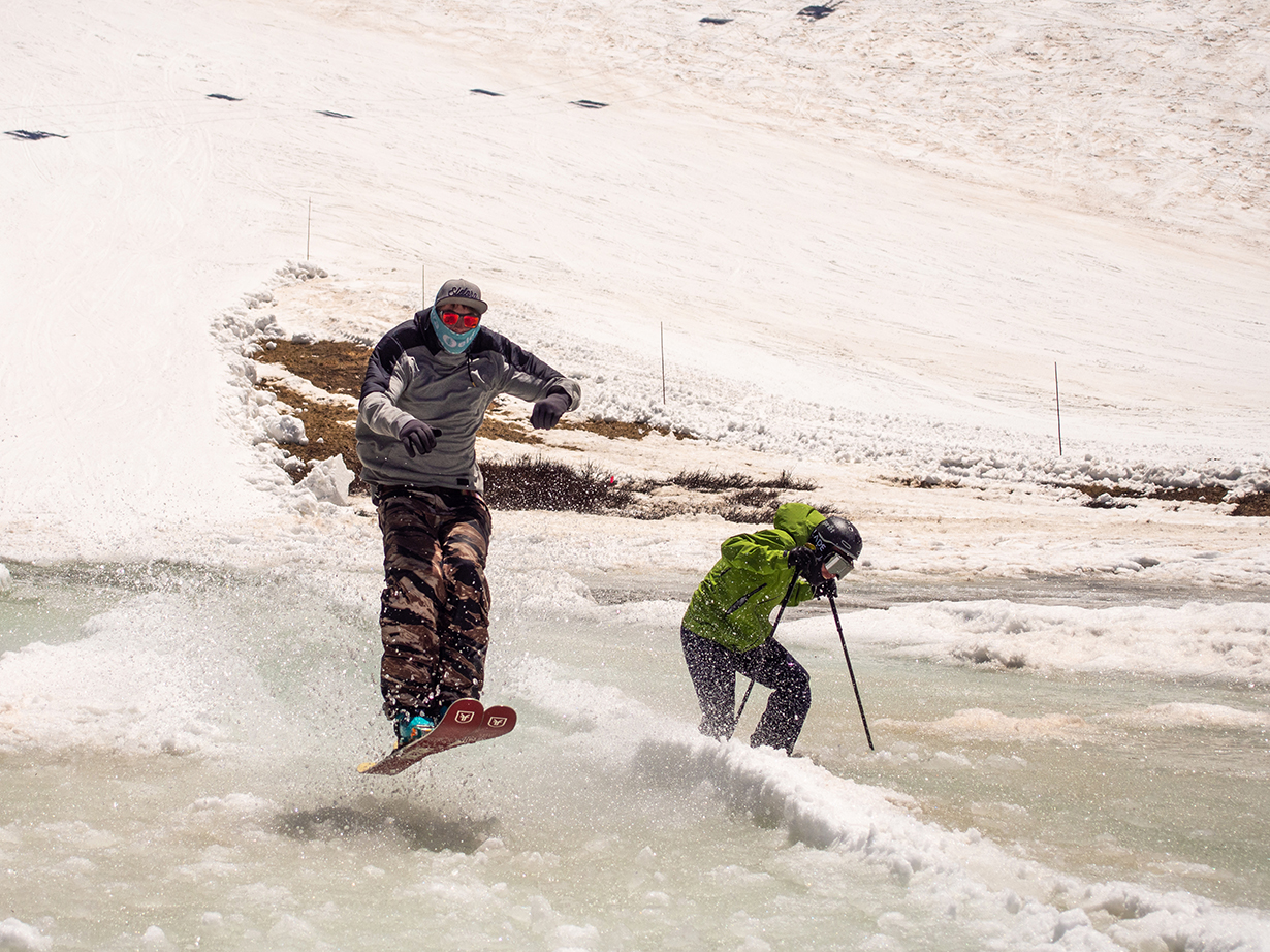 Spring Ski Testing on the blister GEAR:30 podcast